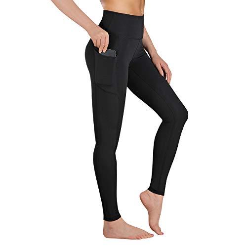 Gimdumasa Leggings Damen Fitness, Yogahose, Lange Blickdicht Yoga Hose Sporthose Fitnesshose mit Taschen GI188...
