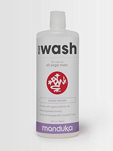 Manduka Mat Renew Spray, Lavender, 946 ml