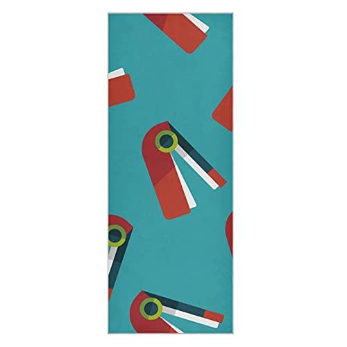 Yoga-Schweißtücher Bunte Mode Kreative Hefter Yoga-Matte Handtuch Superweiche rutschfeste Yoga-Decke Geeignet für Beach Fitness Park Yoga und Pilates 73x27 Zoll