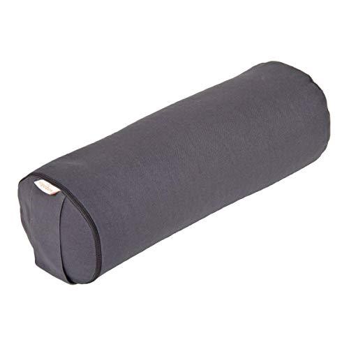Yoga Mini Bolster/Nackenrolle Basic, grau