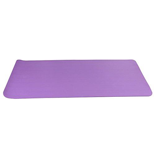 Yogamatte (180 x 61X1 cm) mit kostenlosem Tragegurt - Yogamatte für Gym, Workout und Yoga - Yogamatte rutschfest und extra dünn mit 1CM Dicke - Fitnessmatte, Sportmatte für Zuhause