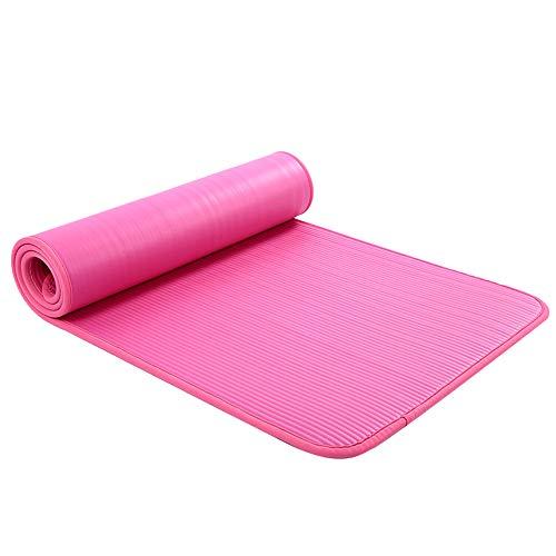 YJKL Yogamatte, eingewickelte Yoga-Matte für Anfänger, geschmacksneutrale Yoga-Decke, Yoga und Gymnastik, geeignet für Männer und Frauen, für Fitnessstudio, Fitness, Workout, Pilates