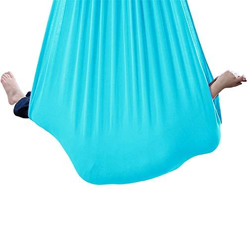 QHY Hängehöhle Kinder Indoor Keine Nähte Aerial Yoga Tuch Kuscheln Hängematte Mit Besonderen Bedürfnissen Für Kinder, Yoga, Sensorische Integration, Outdoor, Camping