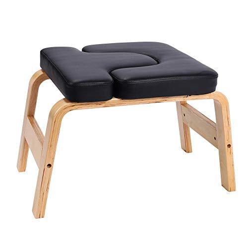 Yoga-Hocker,Yoga Kopfstand-Hocker Yoga Handstand Bench Stand Yoga-Kopfstand-Stuhl Yoga-Umstellungs-Stuhl für...