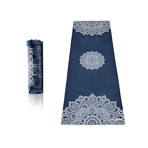 Yoga Design Lab Hot Yoga Handtuch | rutschfest, leicht, recyceltes, saugfähiges Mikrofaser Yogahandtuch |...