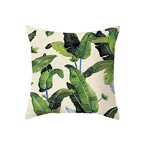 squarex Kissenbezug, 45 x 45 cm, geometrische Malerei, Leinen, Heimdekoration, Kissenschutz, antiallergen, maschinenwaschbar, dekokissen mit füllung, Kissenbezug 45x45