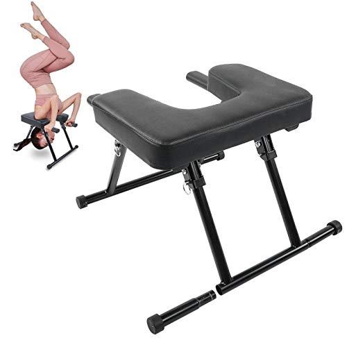 Yoga Kopfstand Hocker, Yoga Stuhl, Yoga Hocker Yoga Handstand Bench Kopfstandhocker für Yoga Praxis, klappbarer Inversionsstuhl Multifunktionale Fitness Yoga Kopfstand Stuhl Inversionsbänke für Home