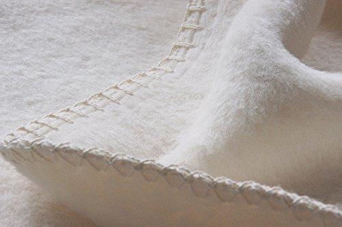 Richter Decke aus 100% Bio-Baumwolle 150x200 cm, Natur