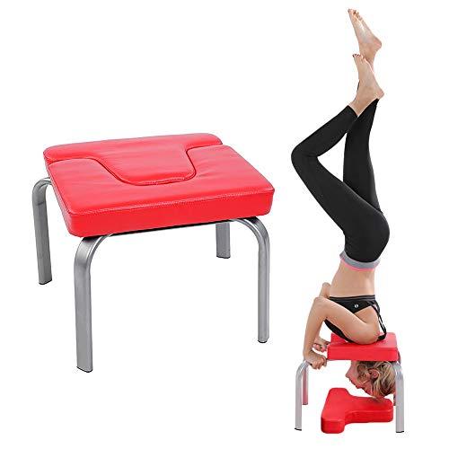 Cocoarm Yoga Kopfstandhocker Handstand Bench, Kopfstand Hocker Yoga hilft Trainingsstuhl Yoga Stuhl Yoga...