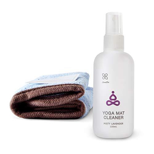 100% natürliche Yogamatten-Reiniger, sicher für alle Matten, keine klebrigen oder schlammigen Rückstände,...