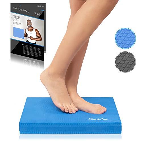 SportyAnis® Balance-Pad inkl. Übungsheft - Innovatives Balance-Kissen zur Stärkung der Tiefenmuskulatur und...