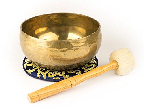 Nepalesische Klangschale mit Zubehör (550)