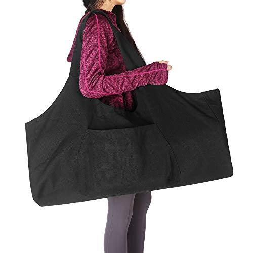 AOLVO Tasche für Yogamatte, mit Reißverschluss, groß, Yogamatte, Tragetasche mit Yoga-Tragegurt,...