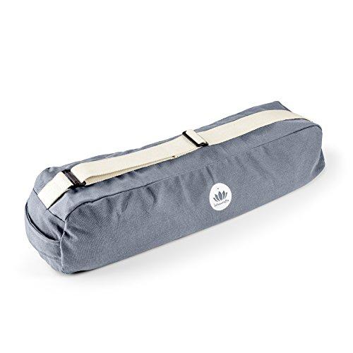 Lotuscrafts Yogatasche PUNE aus Bio-Baumwolle - Fair & Ökologisch hergestellt - Yogamattentasche groß mit...