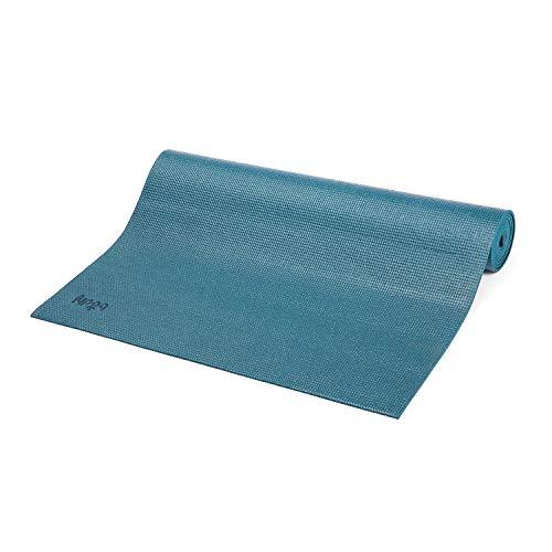 Bodhi Yoga-Matte ASANA aus PVC, schadstofffrei, rutschfest, waschbar, perfekt für Einsteiger, Fitness- und...