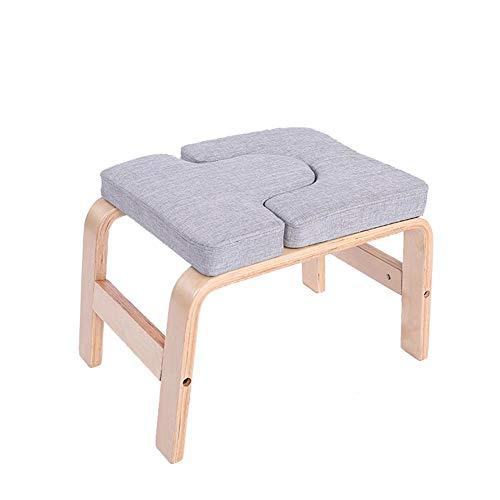 Yoga Inversion Stuhl, Yoga Hocker Yoga Kopfstand Bank Yoga Inversion Stuhl Hocker Handstand zur Linderung von...