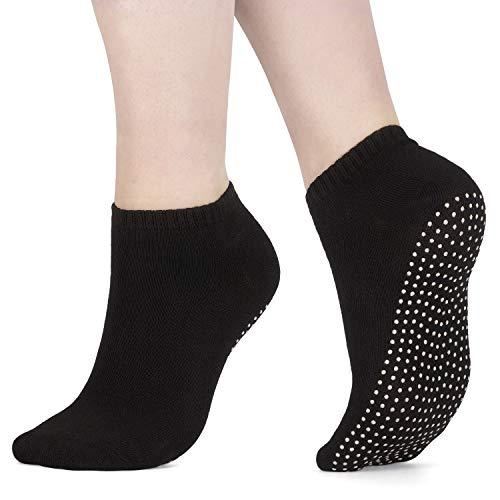 x3 Packung Pilates Socken, Yoga Socken - Martial Arts, Fitness, Zumba, Tanz - Anti-Rutsch - Full Toe Sports...