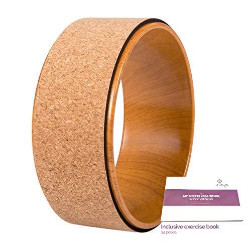 JAP Sports - Yoga Wheel - Yoga Rad - [Pro Series] Stärkstes und bequemstes Dharma Yoga Prop Rad, perfektes...