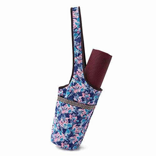 YYZLL Yogamattentasche mit großer Tasche Tragbare Yoga-Zubehör Tragetasche Sportausrüstung Aufbewahrung Canvas-Tasche,Stil 7
