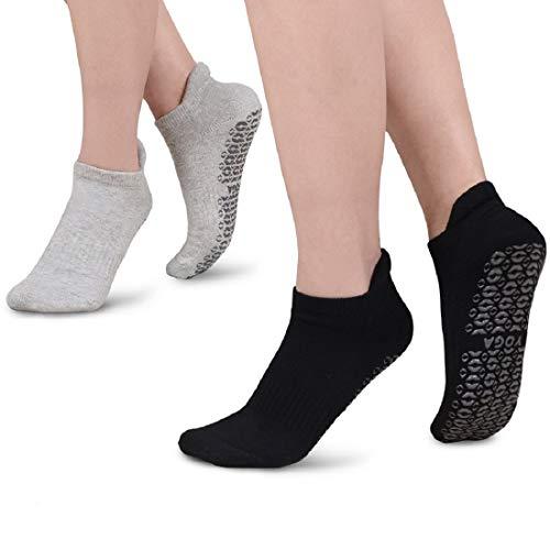 Yoga Socken für Damen Mann,rutschfeste Anti Skid Grip Socken,perfekt für Pilates, Yoga, Barre, Dance,...