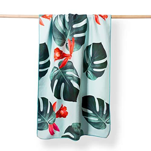 YOGALABS Premium Mikrofaser Handtuch | Yoga- & Strandtuch für Reisen, Camping und Fitness | aus recyceltem...