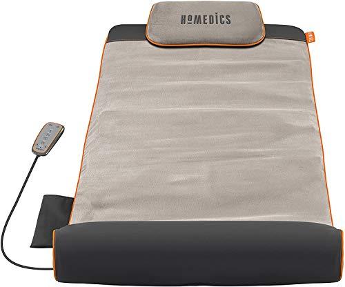 Homedics Stretch Stretchingmatte inspiriert durch Yoga, Yogamatte Gymnastikmatte Fitnessmatte mit 7 Luftkammern für Fitness und Entspannung, Dehnung der Muskulatur und Verbesserung der Beweglichkeit