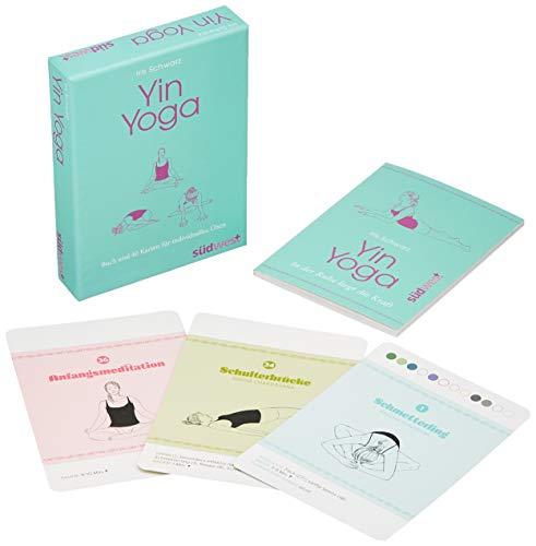 Yin Yoga: In der Ruhe liegt die Kraft. Buch und 40 Karten. Die Kartenbox für individuelles Üben