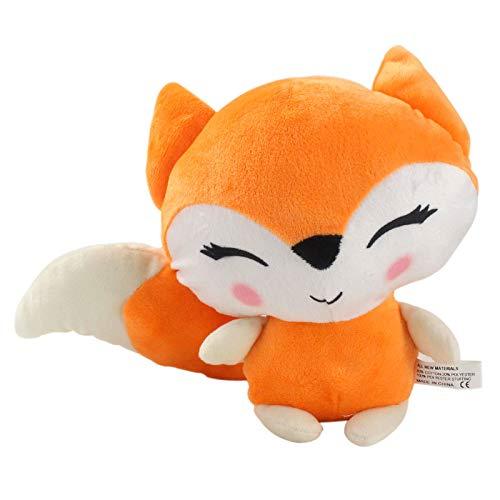 Plüschtiere 24cm Kawaii Fuchs Plüschtiere Weiche Kuscheltiere Puppe Plüsch Kissen Geburtstag Mädchen Kinder