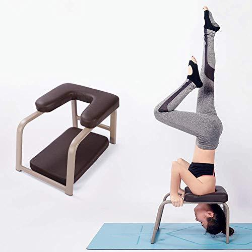 Yoga Kopfstandhocker, Yoga Handstand Bench Safe Yoga Kopfstandstuhl Yoga Hilft Trainingsstuhl Multifunktionale...