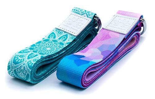 Netrox Yoga Gurt Gürtel Fitness Yogagurt Yogagürtel Strap Band Bio Hilfe Hilfsmittel Bänder Strech Gürtel...