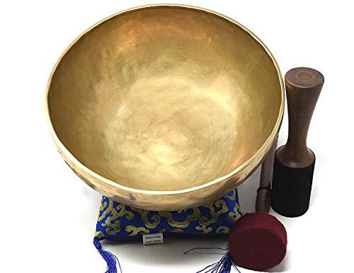 27,9cm d-chakra Master Heilung Klangschale, Meditation, tibetische Schalen, inklusive Klangschale Kissen,...