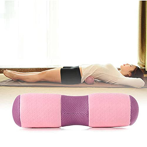 Yoga-Kissen, Rolle für Yin, Yoga, Durchmesser 11 cm, Bezug aus Baumwolle, waschbar, Yoga, Knie, Pilates, Yoga
