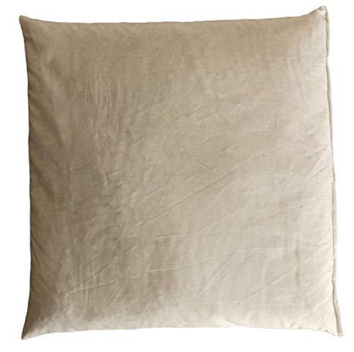 Bee PlaNa Dinkelkissen 40 x 40 cm | Kisseninlett aus 100% Baumwolle Öko-Tex Standard | staubdicht - mit Dinkelspelz / Dinkelspreu Füllung aus Demeter Anbau aus Deutschland | handgefertigt