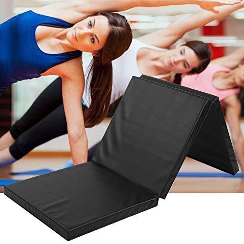 banapoy Faltbare Gymnastikmatte, Fitnessmatte, Gymnastikmatte, Gymnastik Physiotherapie für Yoga-Bodenübungen