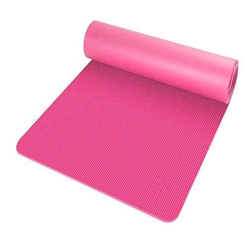 Yoga-Matte for Anfänger Home-Matte weiblicher Herren-Fitness-Yoga-Matte Tanzrutschfeste Matte (1 Satz von 2 Stück)
