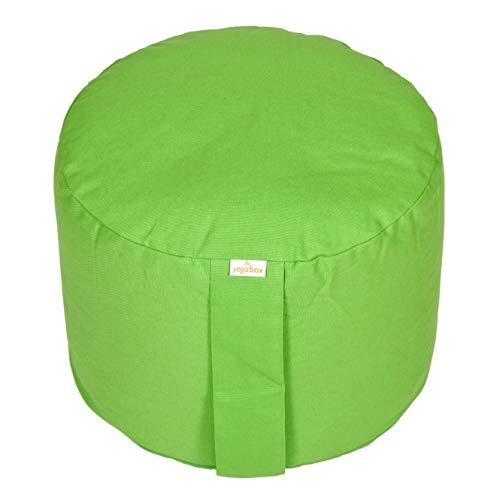 Yogabox Meditationskissen Rondo Big Basic, apfelgrün