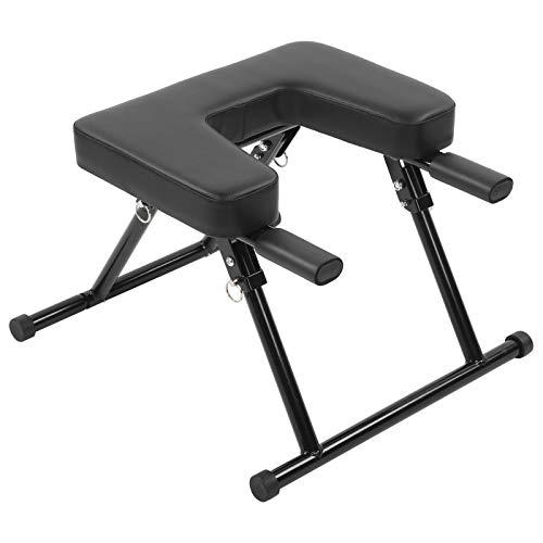 Gmkjh Yoga-Kopfstand, Yoga-Inversionsstuhl, Kopfstandhocker, Inversionsbank-Fitness für Heimfitness-Kopfstandtrainer