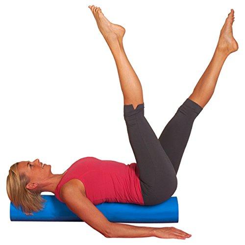 Sport-Tec Pilates Roll 14x90 cm, Pilates Rolle, Faszien Rolle, Massagerolle, Faszienrolle
