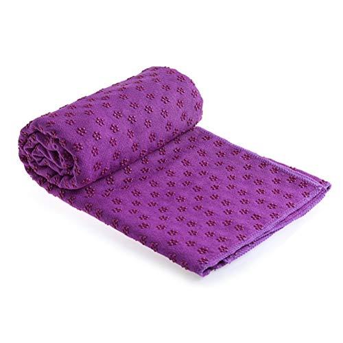 JSSEVN Fitness Reise Yoga-Matte Bezug Handtuch Decke rutschfeste Pilates, Yoga-Decke, Yoga-Handtuch für...