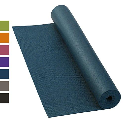 Yogamatte KAILASH PREMIUM, günstig & robust, rutschfest, schadstoffrei nach Ökotex 100, 183 x 60cm, 3mm...