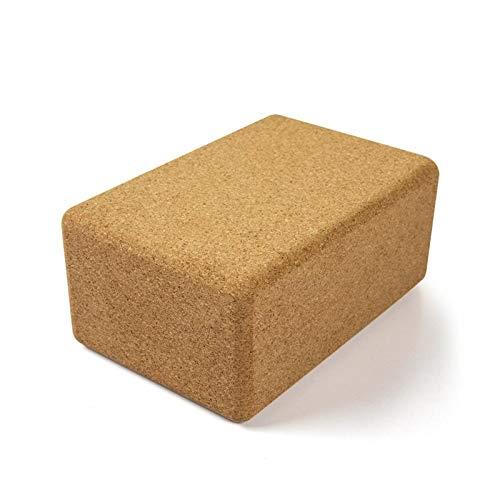 Auzest Yoga Block aus Kork - natürlicher Korkblock I Yogablock für Pilates, Yoga und Fitness I Für...