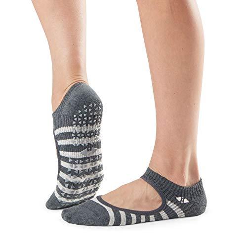 Tavi Noir Chey Yoga-Socken, Unisex, 2 Stück S Space Stripe