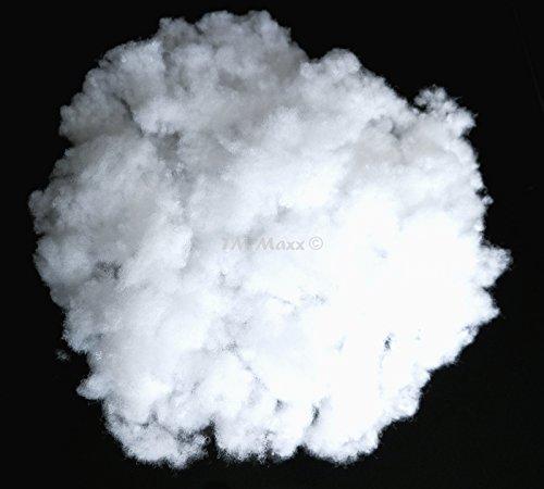 TM Maxx PES Füllwatte Bastelwatte antiallergisch Füllung Öko-Tex Füllmaterial für Kissen (3000 g (3 kg) - ca. 150 Liter) Grundpreis für 1Kg - 7,66Euro