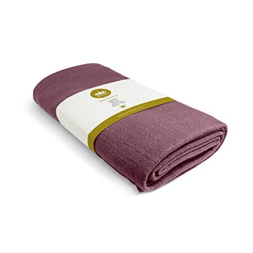Lotuscrafts Yogadecke Baumwolle Savasana [200 x 150 cm] - Meditationsdecke - Widerstandsfähig & Langlebig aus 100% Baumwolle - Yoga Decke für Endentspannung