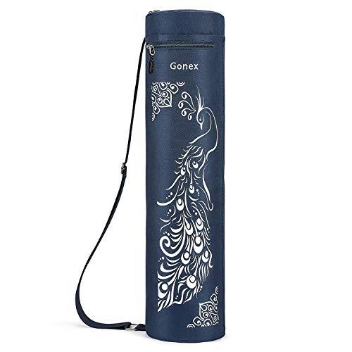 Gonex Yogatasche, Yogamatte Tasche Durchgehender Reißverschluss für robuste wasserdichte...
