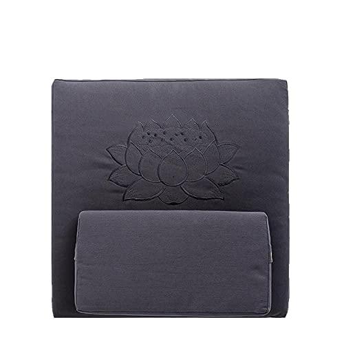 Meditationsmatten Zen Reparaturkissen Su bestickt Lotus entfaltet Kissen Zen Reparatur Pad Zuhause verdickt Null Kissen leise Sitzunterlage Anbetung