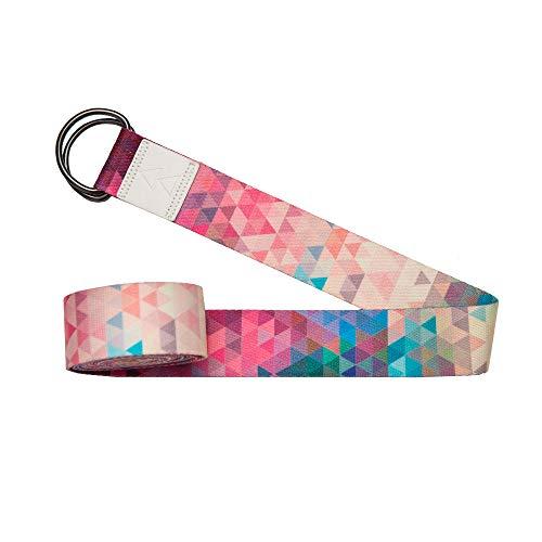 Yoga Design Lab Yogagurt 240 cm | Extra Langer, bunter Yoga Gurt, umweltfreundlich | Für eine intensivere...