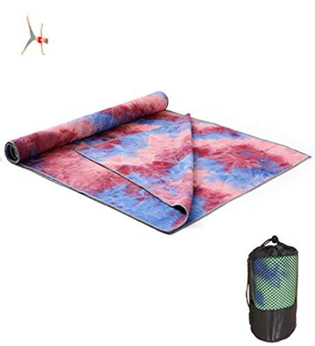 Avril Tian Yoga-Handtuch rutschfest Super Weich Schweißabsorbierend Hot Yoga-Handtuch für Pilates,...