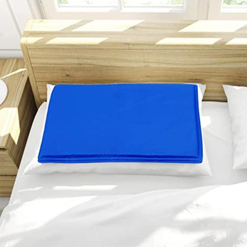 Kühlmatte Gel Cool Pad für Kissen - natürlich kühlende Kisseneinlage für heißes Sommerwetter, verbessert den Schlaf, absorbiert und leitet Wärme ab - kühlkissen kopfkissen (2 Stück, 30x 40CM)
