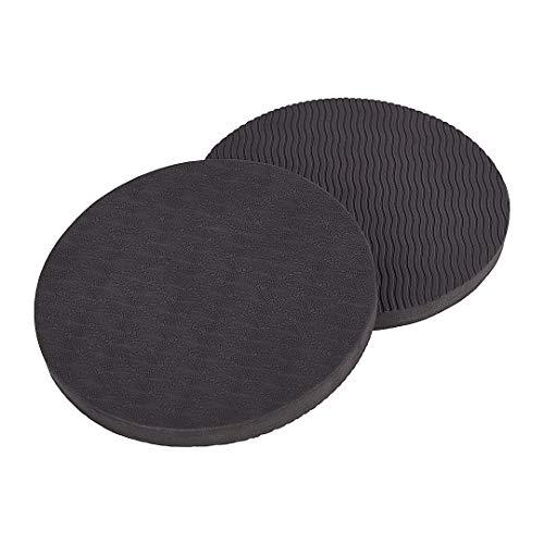 KSS 1 Paar runde Yoga Kissen in verschiedenen Farben – 170 mm Durchmesser – Knieschoner Ellenbogen Schutz Sport Zubehör